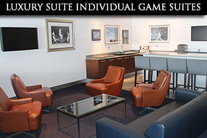 Luxury Suite Individual Game Suites: Click here for more info »