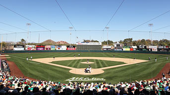 Join us for 2014 Oakland Athletics Spring Training at Phoenix Municipal Stadium!
