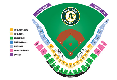 Click for Hohokam Stadium Seating Chart