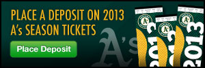2013 Season Ticket Plan Deposits