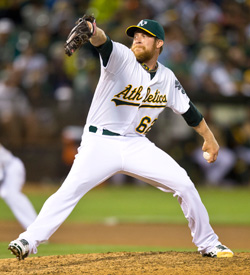 Sean Doolittle, 2013 season