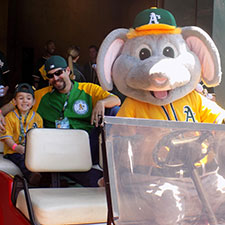 A's Memories - Ride in Stomper's Car