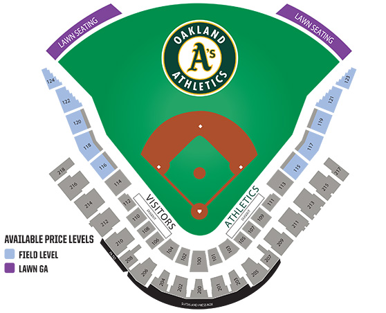 Groupon Seating Chart