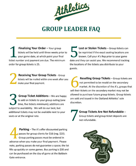 List of 7 things every group leader should know