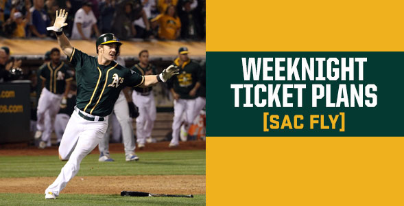Weeknight (Sac Fly) Ticket Plan