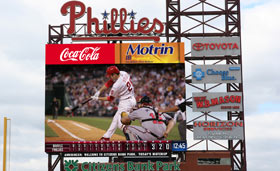 Phillies Scoreboard