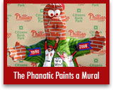 The Phanatic Paints a Mural