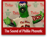 The Sound of Phillie Phanatic