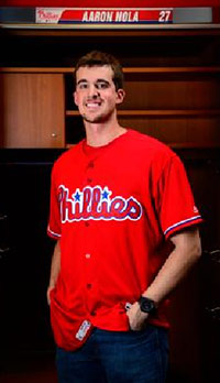 Going Red! New Phillies Alternate Jersey to Debut April 14 at ... 825e83c8c