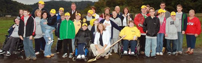 Miracle League Field of the Ohio Valley groundbreaking photo