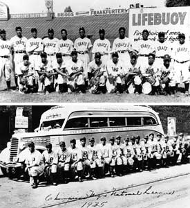 Homestead Grays and Pittsburgh Crawfords