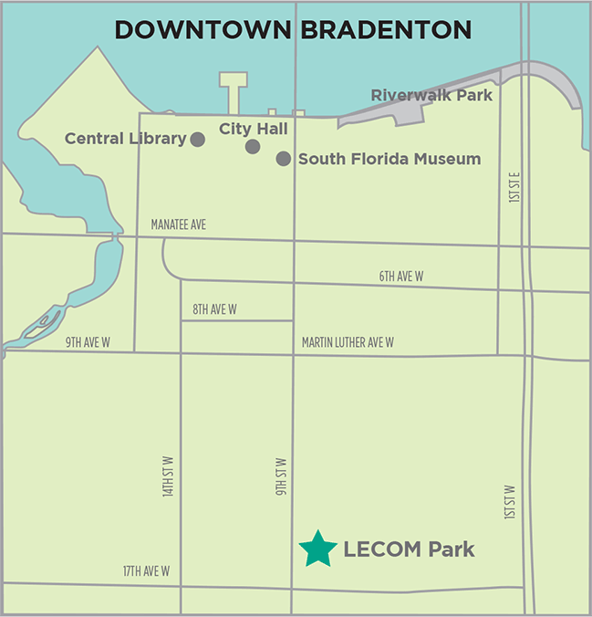 Bradenton Map