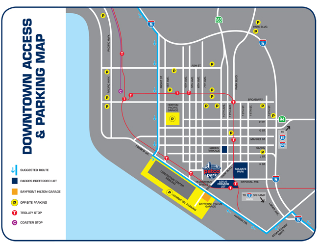 Traffic Advisory Parking Map