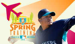 Come see Felix and the Mariners at Spring Training