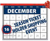 Season Ticket Holder Shopping Event