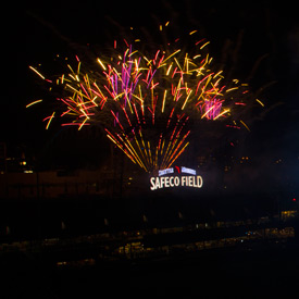 Safeco Field Fireworks