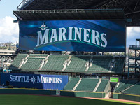 Safeco Field's New Video Scoreboard