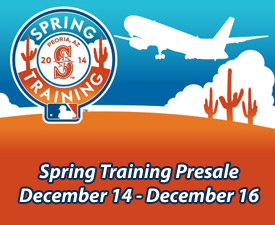 Spring Training Presale