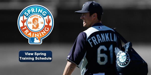Make plans to see your Mariners in Peoria this spring