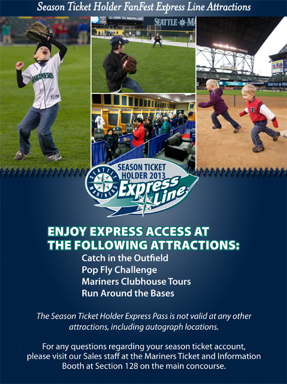 Season Ticket Holder Express Line Attractions