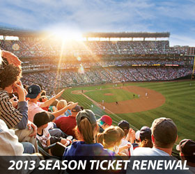 2013 Season Ticket Renewal