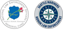 Seattle Mariners - National Law Enforcement Officers Memorial Fund Challenge Coin