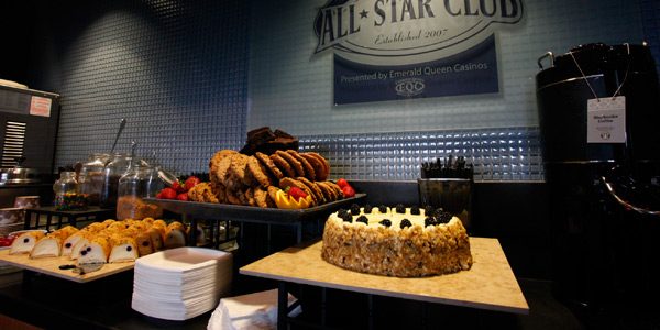 Did we mention the dessert bar?