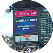 Receive a Safeco Field welcome
