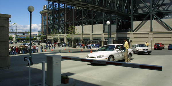 VIP parking at the Safeco Field garage