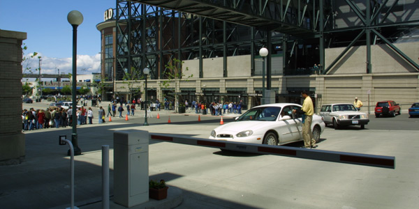 6 VIP parking passes in the Safeco Field garage