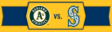 A's vs. Mariners