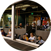Host your next big event in a Press Box Suite