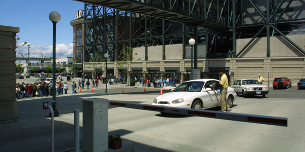 Option to purchase reserved parking in the Safeco Field Garage