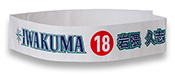 Mariners Salute to Japanese Baseball Night tie head band