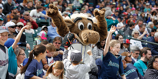 Dance with the Mariner Moose