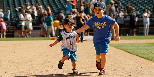 Skip the line for Kids Run the Bases