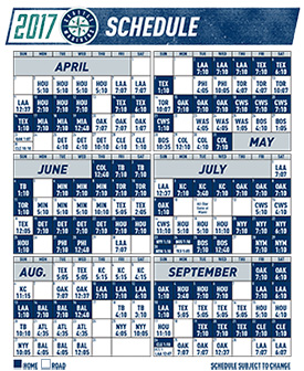Witty image for seattle mariners printable schedule