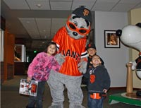Lou Seal and Birthday Tours