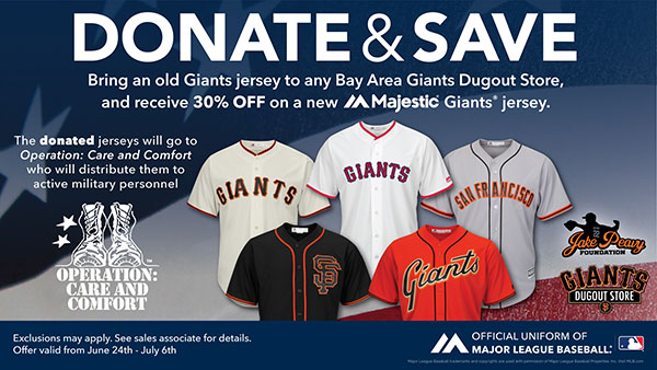 Donate and Save at your local Dugout Store