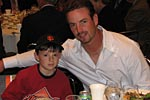 Aaron Rowand and Junior Giant