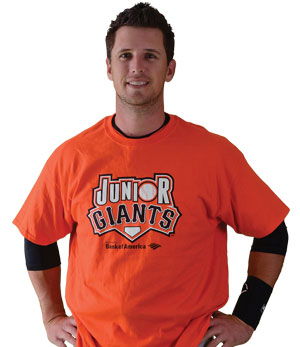 Buster Posey  Junior Giants Commissioner & San Francisco Giants Catcher