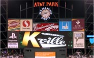 AT&T Park Scorboard