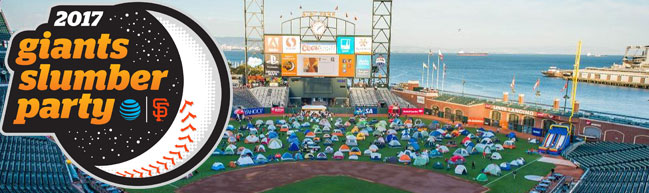 Giants Annual Slumber Party Presented by AT&T