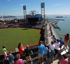 Group Tour of AT&T Park