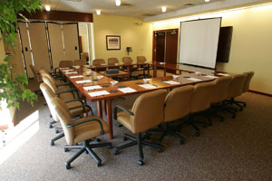 The Bank of America Conference Room