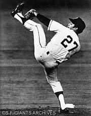 Despite being a dominant pitcher throughout the '60s, Juan Marichal never won the Cy Young Award.