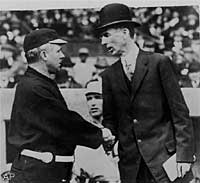 John McGraw and Connie Mack