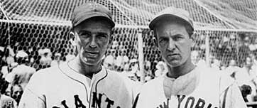 Carl Hubbell and Vernon Gomez