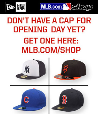Buy your cap at MLB.com/shop