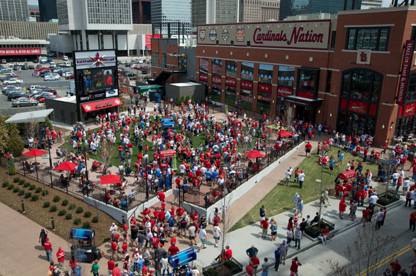 Ballpark Village Busch 2 Infield